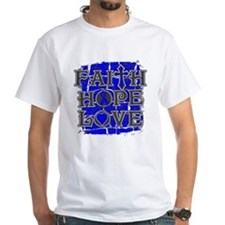 Ankylosing Spondylitis Faith Hope Love Shirt