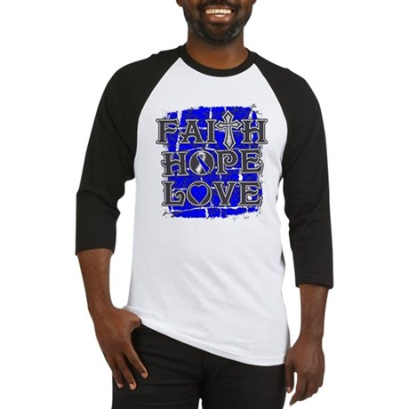 ALS Faith Hope Love Baseball Jersey