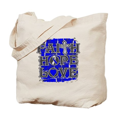 ALS Faith Hope Love Tote Bag