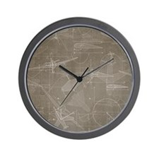 Aerodynamics Wall Clock