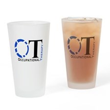 OT Occupational Therapy Drinking Glass