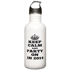 Keep Calm and Party on Water Bottle