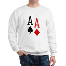 Pocket Aces Poker Sweatshirt