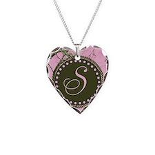 Pink woodland camo Custom Necklace