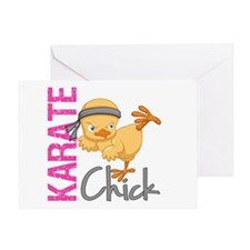 Karate Chick 2 Greeting Card