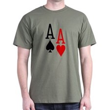 Pocket Aces Poker T-Shirt