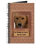 Wanted_For stealing my heart Journal
