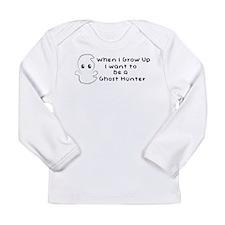 I Wanna Be A Ghost Hunter Boy Long Sleeve T-Shirt