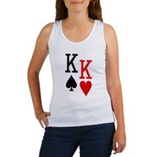 Pocket Kings Poker Women's Tank Top