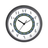 Arabic Numerals Wall Clock