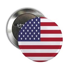 United States Flag 2.25&Quot; Button