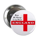 St. George's Flag Button