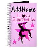 Gymnastics diary Journals & Spiral Notebooks