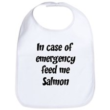 Feed me Salmon Bib