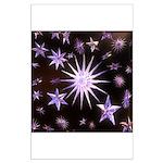 Sparkling Stars Large Poster