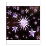 Sparkling Stars Small Poster