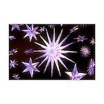 Sparkling Stars Mini Poster Print