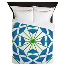 Eclectic Flower 362A Queen Duvet