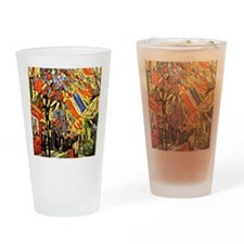 Van Gogh - Fourteenth of July Celeb Drinking Glass