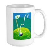 'Hole in One!' Ceramic Mugs