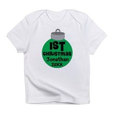 Personalized 1st Christmas Infant T-Shirt