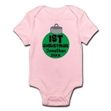 Personalized 1st Christmas Infant Bodysuit