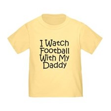 Watch Football With Daddy! T