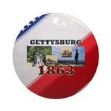 ABH Gettysburg Ornament (Round)