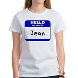 hello my name is jean Tee