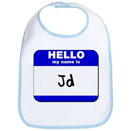 hello my name is jd Bib