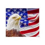 American eagle Fleece Blankets