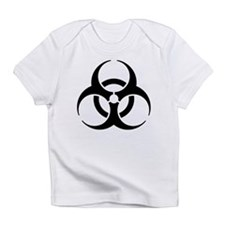 Black Bio-Hazard Infant T-Shirt