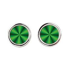 Green Illusion Cufflinks