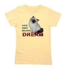 Love, Hope, Believe and Dream Girl's Tee