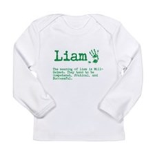 The Meaning of Liam Long Sleeve T-Shirt