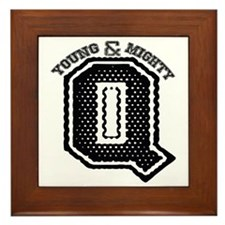 Young and Mighty Q Framed Tile
