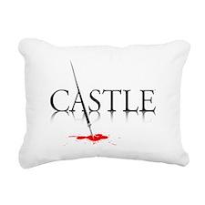 Castle Rectangular Canvas Pillow