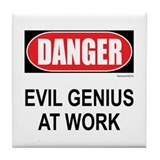 Evil Genius Tile Coaster