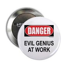 "Evil Genius 2.25"" Button (10 pack)"