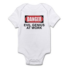 Evil Genius Infant Bodysuit
