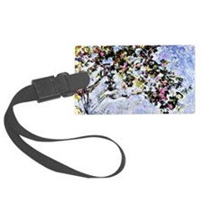Renoir - The Rose Bush Luggage Tag