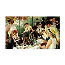 Renoir: The Luncheon of the B Rectangle Car Magnet