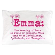 Emma Personalized Name Pillow Case