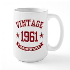 1961 Vintage Aged To Perfection Mug
