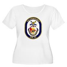 USS Providence Women's Plus Size Scoop Neck Tee