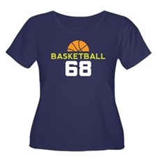 Custom Basketball Player 68 Women's Plus Size Scoo