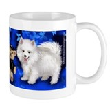 American Eskimo Dog & Toy Small Mug