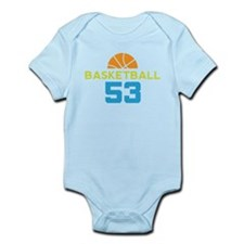 Custom Basketball Player 53 Infant Bodysuit