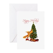 Mockingjay Happy Holidays Greeting Cards (10)