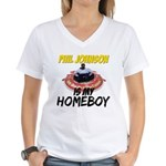 Homebody Women's V-Neck T-Shirt